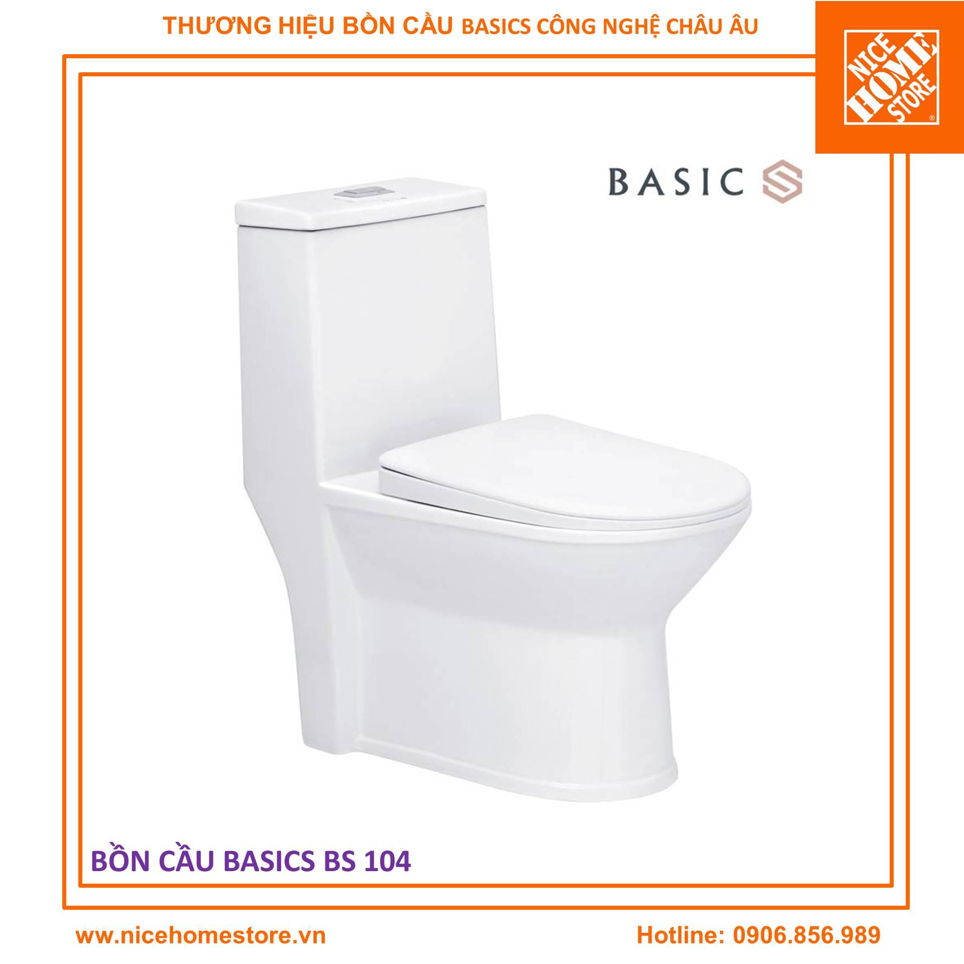 Bồn cầu Basics BS 104