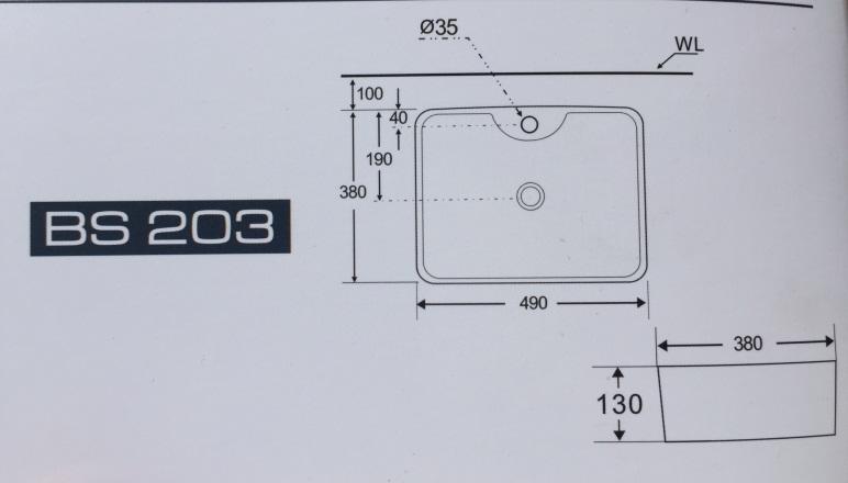 ban ve Basic BE-BF2203