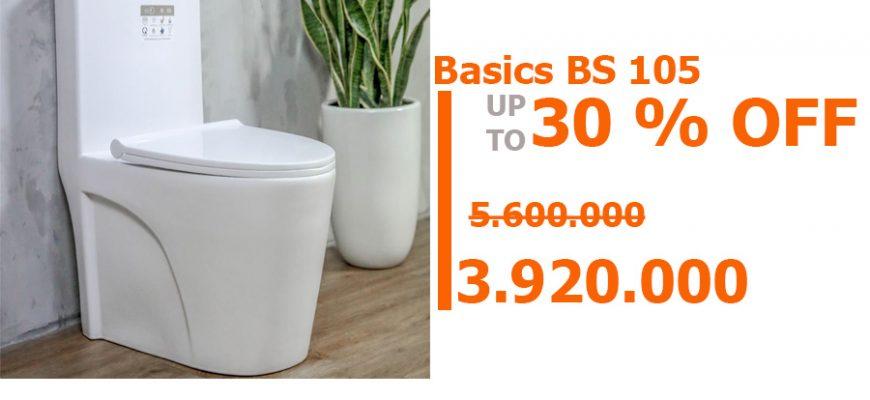 Bồn cầu basic BS 105