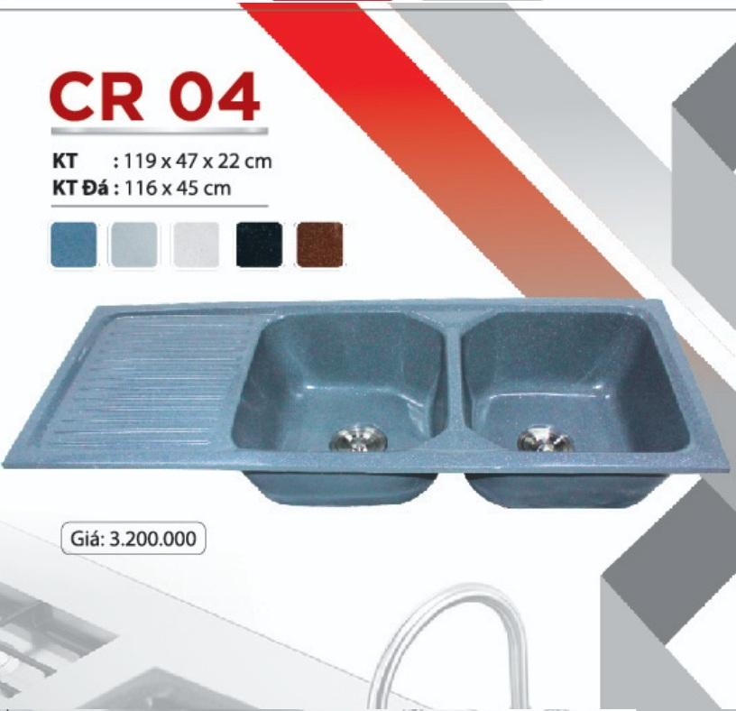 Chậu rửa chén đá nhân tạo CR-04