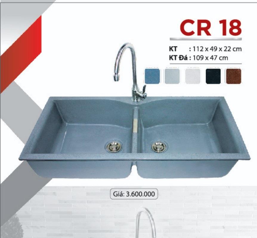 Chậu rửa chén đá nhân tạo CR18