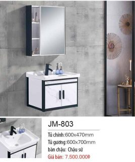 Tủ lavabo khiết mỹ JM 803