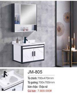 Tủ lavabo khiết mỹ JM 805