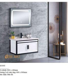 Tủ lavabo khiết mỹ JM 840