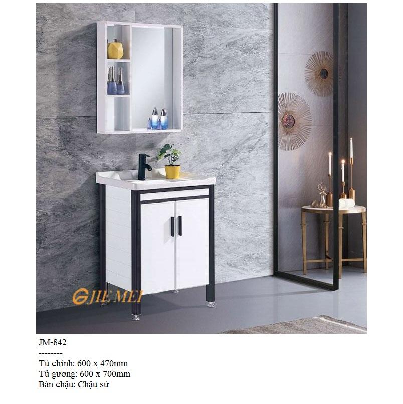 Tủ lavabo khiết mỹ JM 842