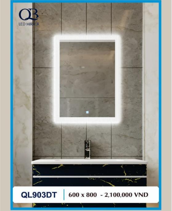Gương đèn led cảm ứng QL903DT
