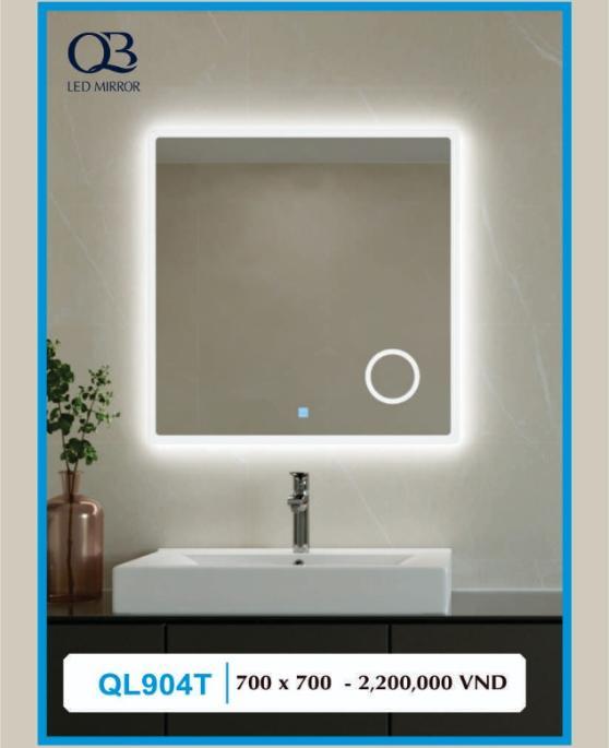 Gương đèn led cảm ứng QB