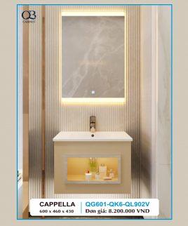 Tủ lavabo QB QG601-QK6-QL900V