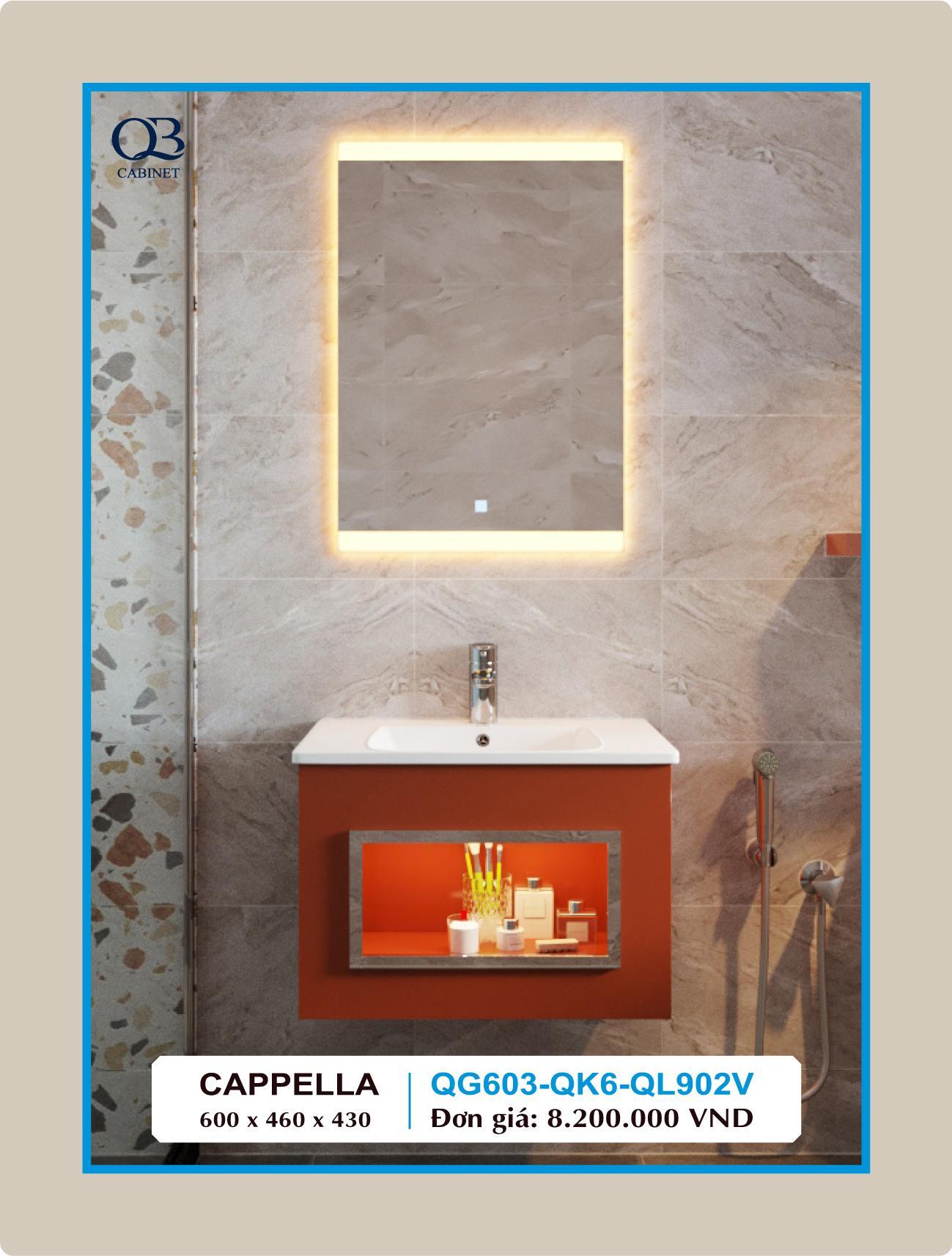 Tủ lavabo QB QG603-QK6-QL902V