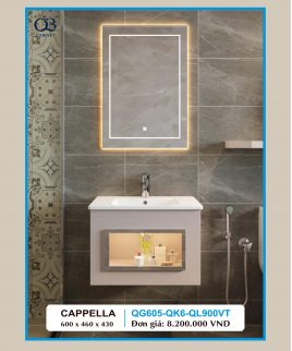 Tủ lavabo QB QG605-QK6-QL900VT