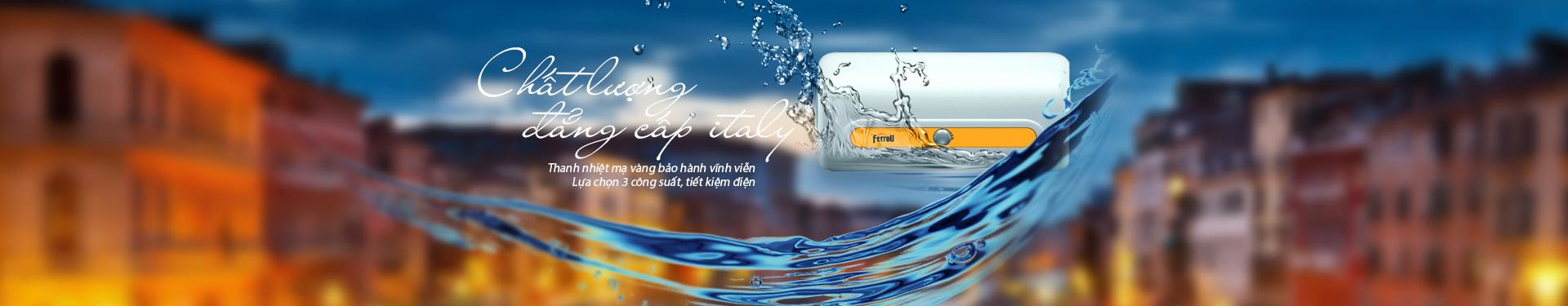 máy nước nóng trực tiếp Ferroli